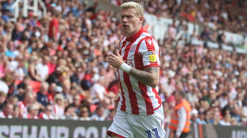 Stoke City fine Ireland's James McClean two weeks' wages over balaclava photo