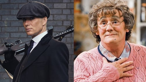 Peaky Blinders and Mrs Brown's Boys - Best Drama and Best Comedy winners respectively. Peaky Blinders star Cillian Murphy won Best Drama performance