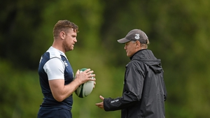 Jamie Heaslip feels it won't be too long before Schmidt is back coaching