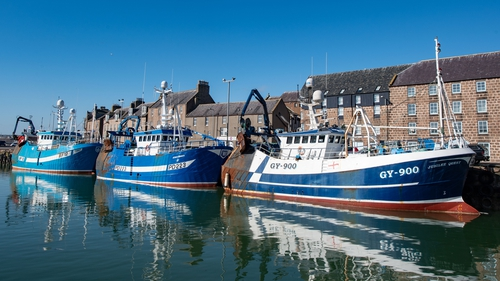Fishing mostly takes place in UK waters and most of the catch goes to EU fishermen
