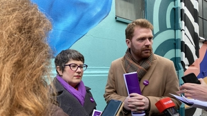Social Democrats candidate Sarah Durkan, left, said there did not have to be a choice between the arts and a strong economy