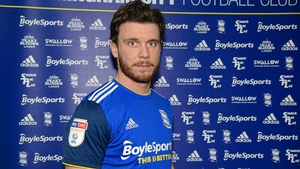 Scott Hogan is a Birmingham City player