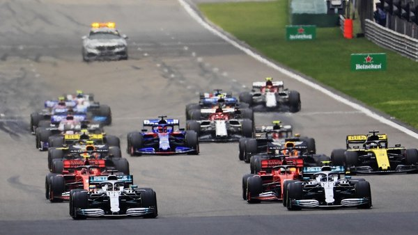 The Chinese Grand Prix was first held in 2004