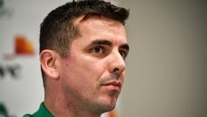 Ireland U20 head coach Noel McNamara