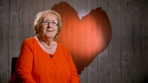 Lorraine appears on Thursday night's episode of First Dates Ireland