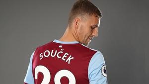 Tomas Soucek has joined West Ham