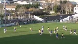 Evan O'Carroll rifles home a brilliant goal