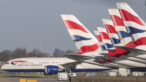 Under the agreement, BA pilot pay cuts will start at 20% and will be reduced to 8% over the next two years