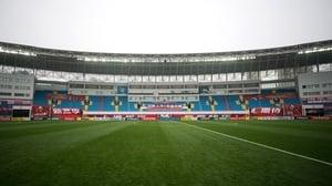 Shanghai SIPG is playing Buriram United before an empty stadium due to the spread of the new coronavirus