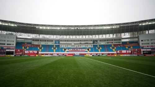Coronavirus halts China's domestic football games