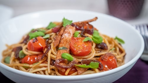 This pasta dish could be made in advance and left to cool and put in the fridge within 2 hours of cooking for up to 2 days in an airtight container.