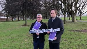 Social Democrats candidates Dave Quinn (left) and Cian O'Callaghan (right)