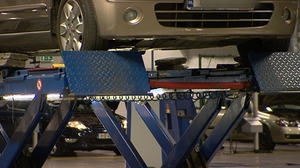 The underbody inspections follows the delivery and planned installation of new vehicle lifts