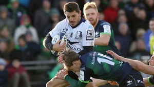 Anthony Bouthier in action against Connacht earlier this season