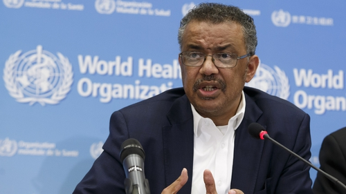 Tedros Adhanom Ghebreyesus said the 'greatest concern is the potential for the virus to spread to countries with weaker health systems..'