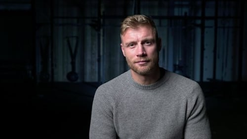 "Freddie Flintoff - ""If this resonates with one person watching, or through this we can show someone that there is help out there, then this is worth doing"""