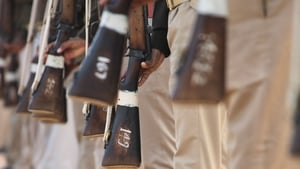 The man was shot dead by police in the state of Uttar Pradesh