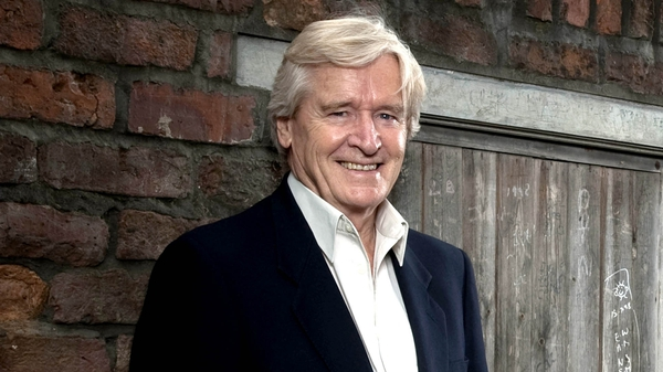 William Roache plays Ken Barlow on Coronation Street
