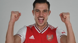 Cedric Soares has joined Arsenal