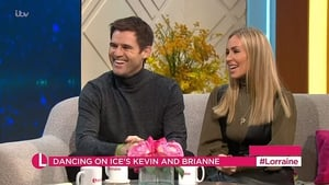 Kevin Kilbane and his Dancing on Ice partner Brianne Delcourt open up on their romance