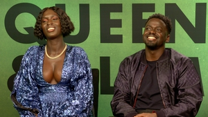 Jodie Turner-Smith and  Daniel Kaluuya talk to RTÉ Entertainment