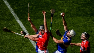 Patrick 'Bonner' Maher claims possession during last year's Munster clash between Cork and Tipperary