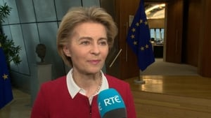 Ursula Von Der Leyen insisted there would need to be checks and controls on goods going between Britain and Northern Ireland