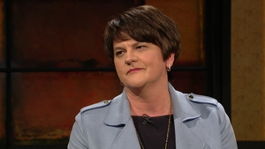 Arlene Foster appeared on RTÉ's Late Late Show