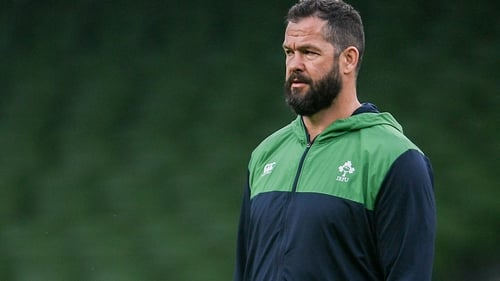 Andy Farrell has been a leader since the early stages of his own playing career