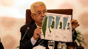 Mahmoud Abbas made the announcement at an Arab League meeting in Cairo