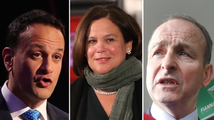 Leo Varadkar and Micheál Martin insisted throughout the campaign they would not go into govt with Mary Lou McDonald's party