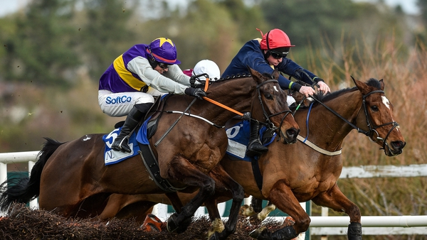 Latest Exhibition (near side) impressed at Punchestown