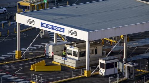 Dover customs checks