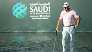 Graeme McDowell leads by a stroke heading into the final round in Saudi Arabia