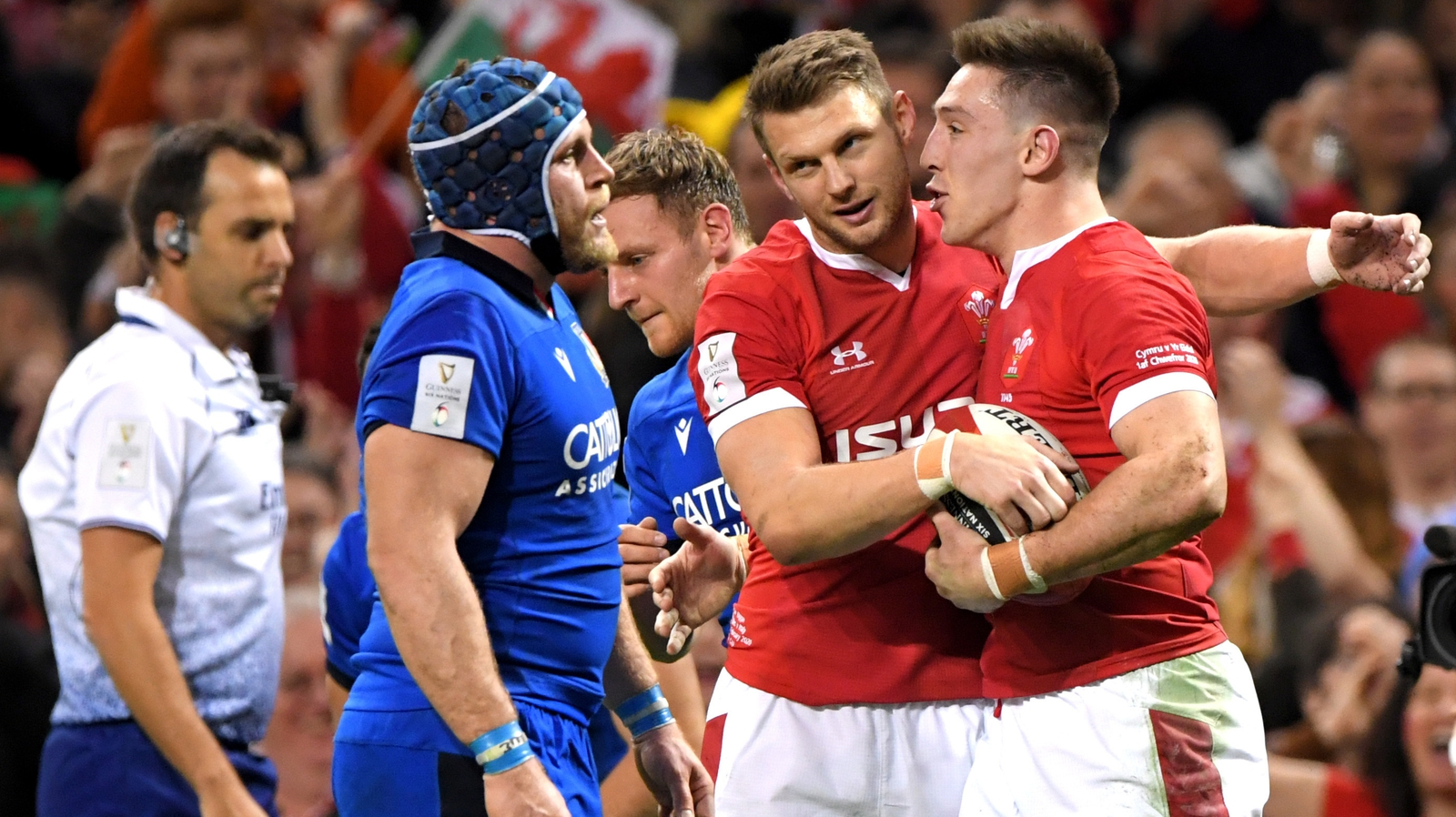 Adams ruled out of Ireland game due to Covid breach Rugby