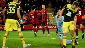 Sothampton were finally put to the sword at Anfield