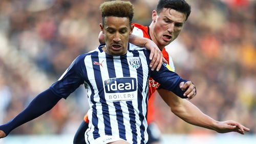 Callum Robinson clad in his new club's colours