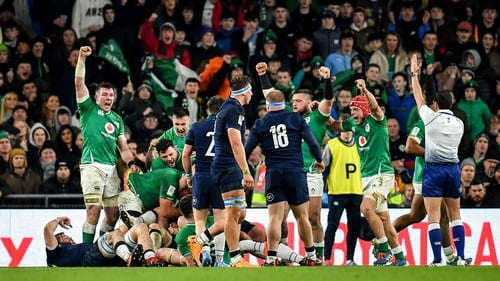 The reaction at full-time as Ireland hang on to beat Scotland