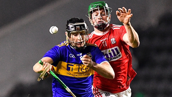 Alan Flynn of Tipperary in action against Seamus Harnedy