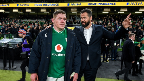 Andy Farrell was full of praise for both sides following the tough test for his Ireland side