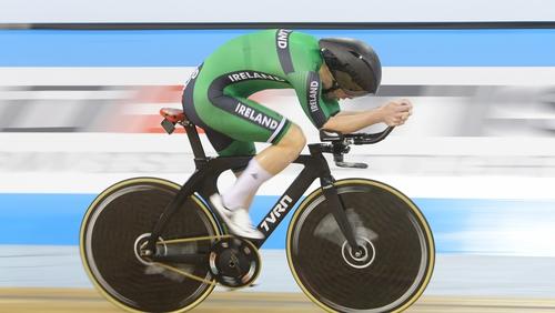 Galway's Ronan Grimes grabbed bronze at the Para-cycling World Championships