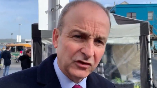Micheál Martin said the latest opinion poll would energise FF candidates