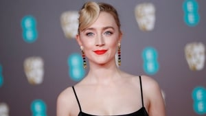Saoirse Ronan on the red carpet at the BAFTA awards last weekend. Photo: Tolga Akmen/AFP via Getty Images