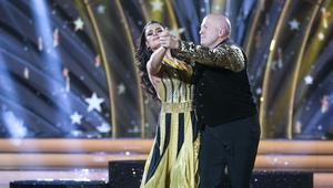 Michael Carruth and Karen Byrne dance together for the final time