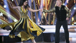 Michael Carruth and Karen Byrne tango for the last time