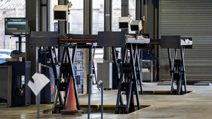 Testing at MOT test centres were suspended following concerns over lift equipment
