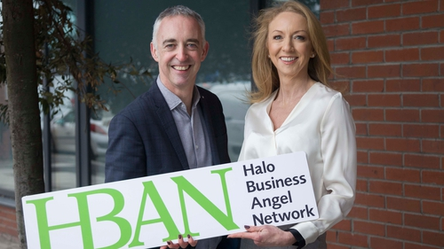 John Phelan, all-island director and Niamh Sterling, investment consultant at HBAN