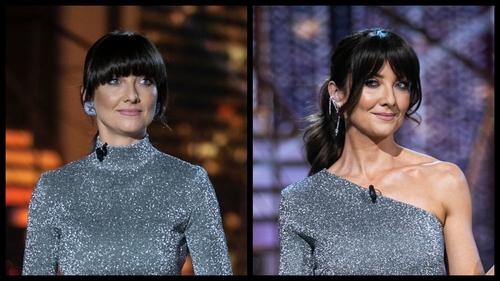 Jennifer Zamparelli in 2019 and 2020.