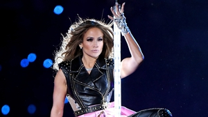 JLo put her 'Hustlers' pole dancing skills to good use on stage. Photo: Getty