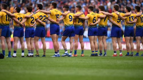 Roscommon were pushing hard for promotion